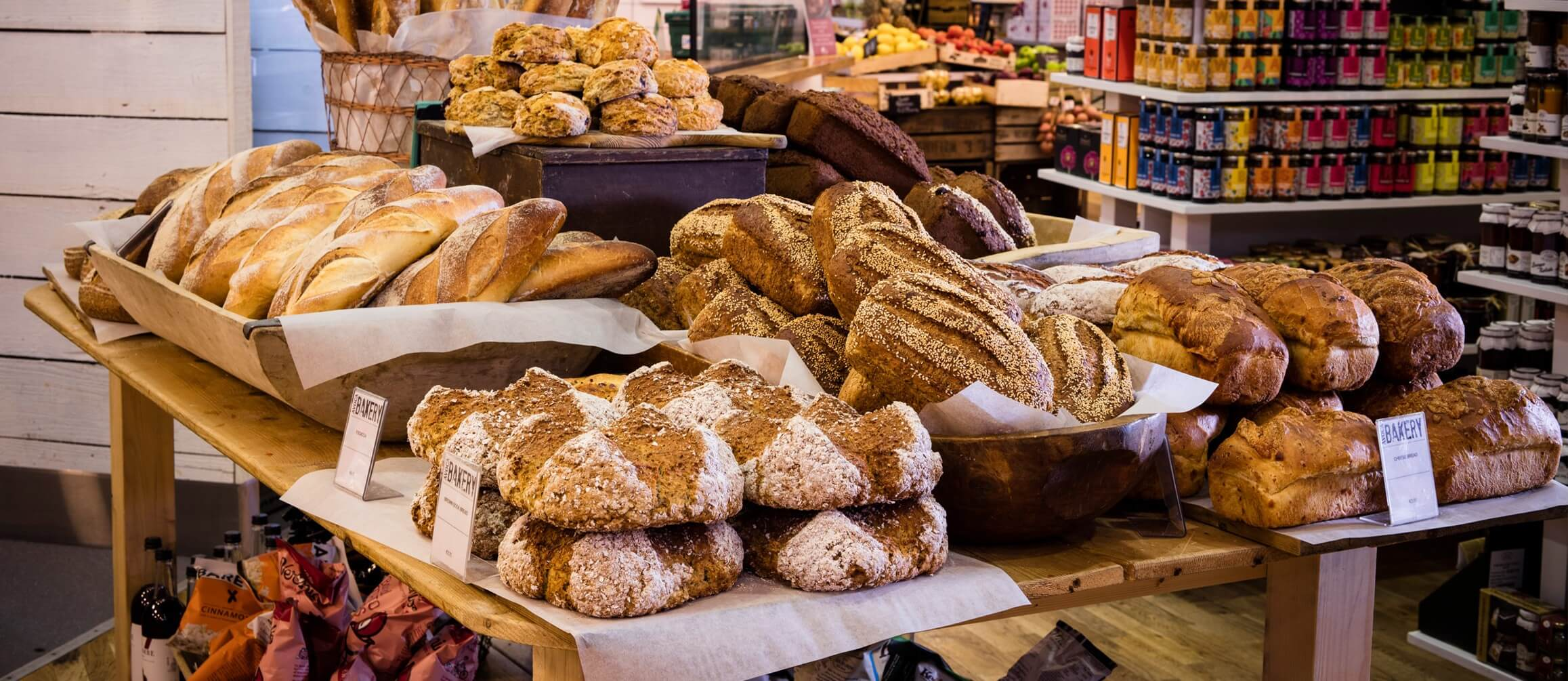 Different Kinds of Bakery Retail Shop